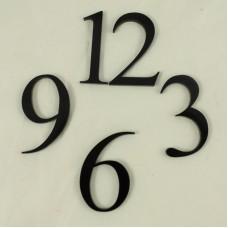 Acrylic Numbers - 12,3,6,9