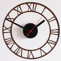 DIY Clock Kit - Movement, Hands, Case, Clock Face
