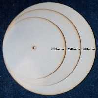 Clock Dial Round - MDF - 200mm