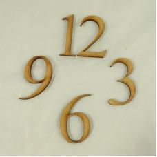 MDF Numbers - 12,3,6,9