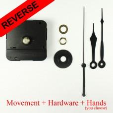 BULK x 30 READ DESCRIPTION FIRST - Reverse Clock Movement -